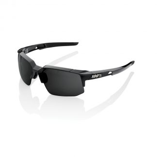 100% Speedcoupe Peakpolar Lens Polished Black
