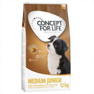 12 kg Concept for Life medium junior Hondenvoer