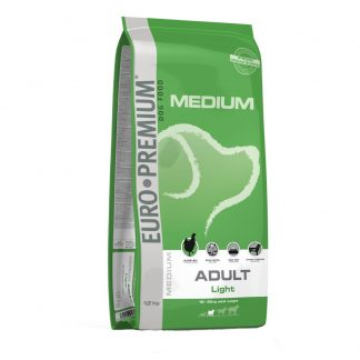 12 kg Euro Premium Medium Adult Light Hondenvoer