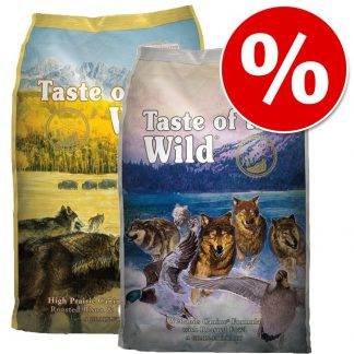 2 x 13 kg: Taste of the Wild - Combipakket - Pacific Stream Canine + Southwest Canyon: 2 x 13 kg