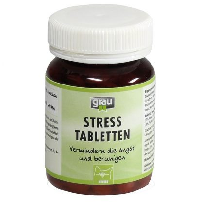 2x120 Tabletten Grau Stress Tabletten Honden voersupplement