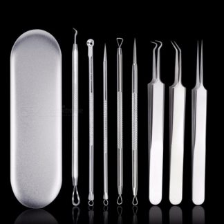 5 Stks Acne Naald Pincet Acne Extractor Remover Removal Tool Kit Set Andere