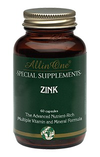 All in One Zink Capsules Immuunsysteem 60Capsules