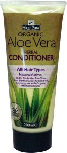 Aloe pura organic aloe vera conditioner herbal
