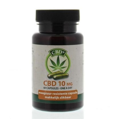 CBD 10 mg capsules - 60ca - Jacob Hooy Jacob Hooy