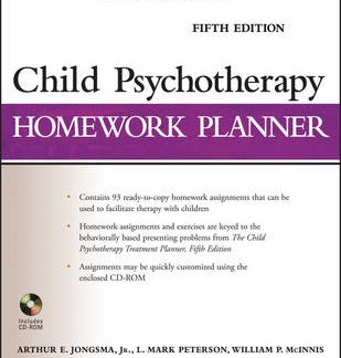 Child Psychotherapy Homework Planner, Fifth Editio n