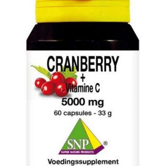 Cranberry vitamine C 5000 mg