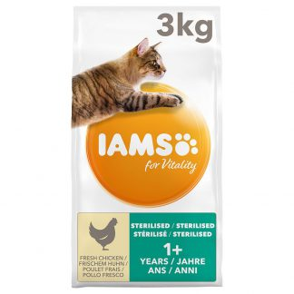 IAMS Cat Adult Sterilised Chicken Kattenvoer - 10 kg