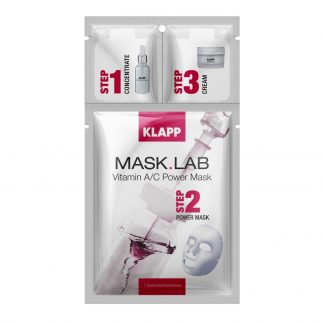 Klapp Mask Lab Vitamin A/C Mask - 10% code SUMMER10 - Mask Lab