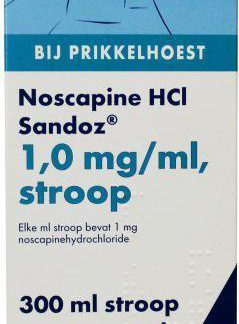 Noscapine siroop HCL