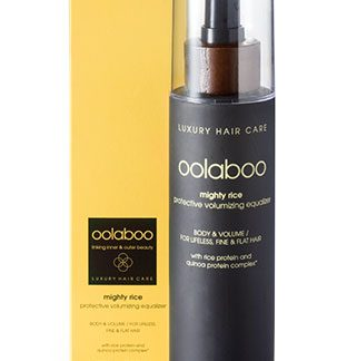 Oolaboo Hair Care Mighty Rice Protective Volumizing Equalizer Conditioner Spray Fijn/Slap Haar 250ml