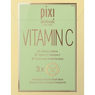 Pixi - Vitamin-C Energizing Infusion Sheet Mask - 3 x 23 gr