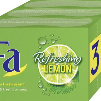 Refreshing lemon zeep 3 x 100 gram