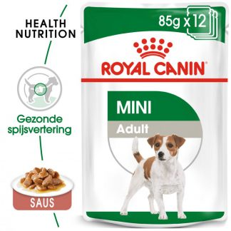 Royal Canin Mini Adult Hondenvoer - Dubbelpak: 24 x 85 g