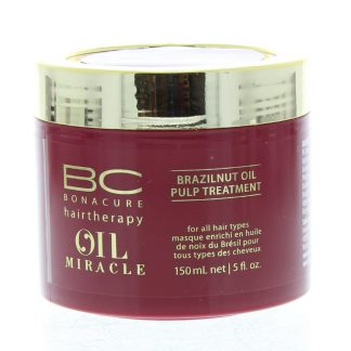 Schwarzkopf BonaCure Oil Miracle Brazilnut Oil Pulp Treatment Masker Gekleurd Haar 150ml