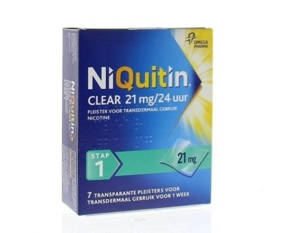 Stap clear 21 mg/24 uur