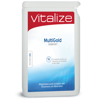 Vitalize MultiGold Compleet 120 tabletten