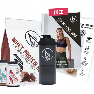 Weight Loss Bundel + Gratis Gids En Menu's - Whey 80 Chocolate