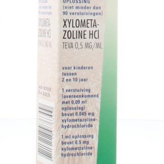 Xylometazoline 0.5 mg spray