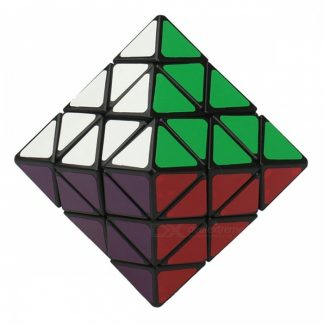 qiyi 70mm lanlan 8 gezicht 8-assige octaëder twisty cube, magic puzzle anti-angst speelgoed